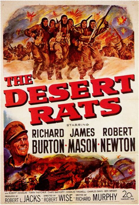 The Desert Rats Movie Posters From Movie Poster Shop