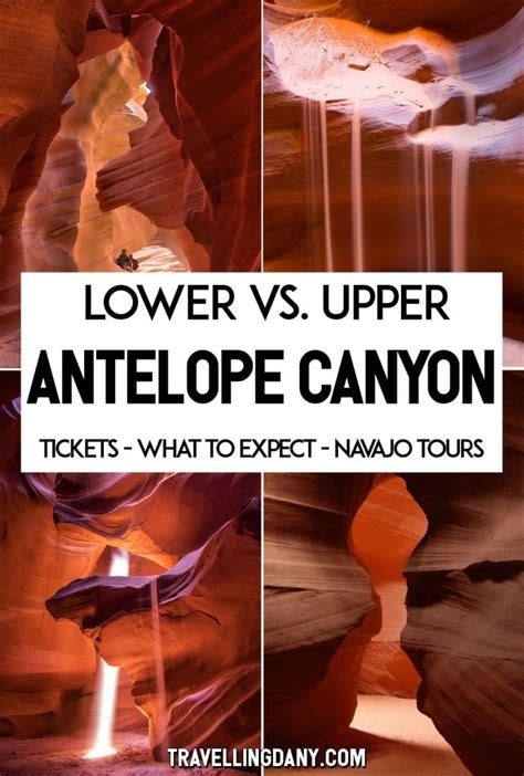 Upper vs Lower Antelope Canyon (which one and why
