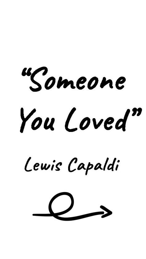 Someone You Loved Lyrics Lewis Capaldi for Android - APK