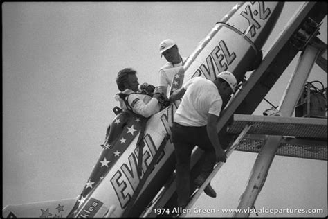 Evel Knievel's Famous Snake River Canyon Jump • Visual