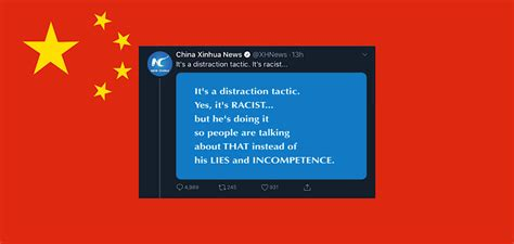 State-owned China news outlet ratioed on Twitter after