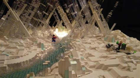 18,000+ piece LEGO Fortress of Solitude shames all other