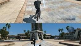 Skate 3: graphics comparison between Xbox 360 and PS3 | N4G