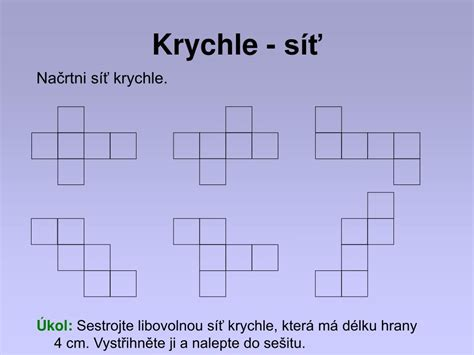 PPT - Krychle PowerPoint Presentation, free download - ID