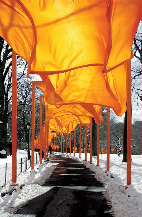 christo and jeanne-claude   on art, etc