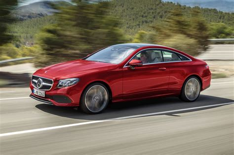 New Mercedes E-class Coupe revealed: latest two-door on