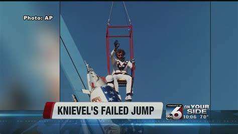 40 year anniversary of Evel Knievel's failed Snake River