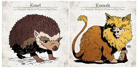 All Fantastic Beasts on Behance