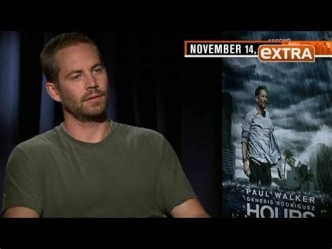 Paul Walker's Last 'Extra' Interview: His Haunting Quotes