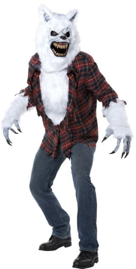 Adult White Werewolf Costume - Party City