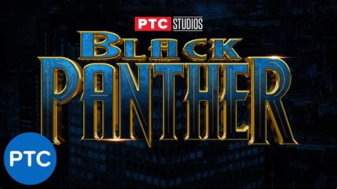BLACK PANTHER Text Effect in Photoshop - How To Use Layer