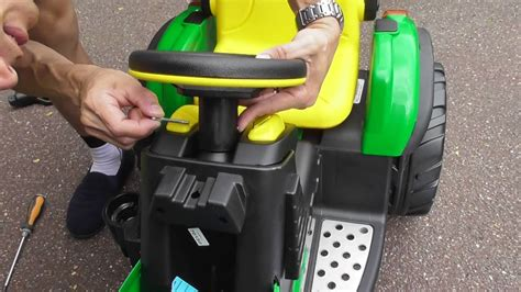 How to assemble Per Perego John Deere ground force