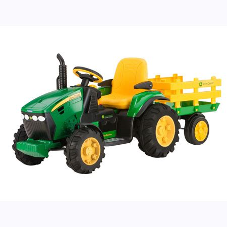 John Deere Kids Ride On 12-Volt Ground Force Tractor with