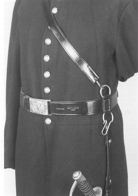 19th century Cavalry, sword belts, cap pouches, holsters