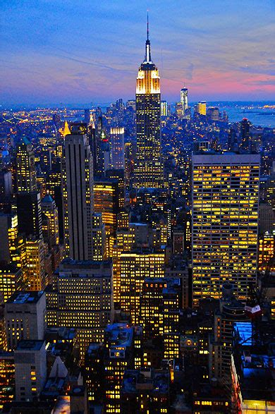Empire State Building : Villes : Nuit : Empire State